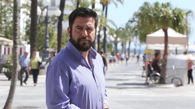 Fran González es el candidato del PSOE a la Alcaldía de Cádiz.