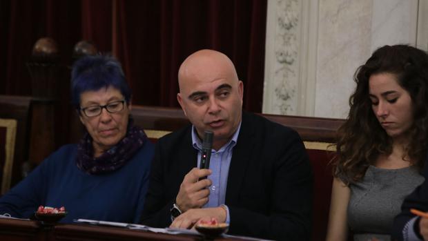 David Navarro es presidente de la sociedad Cádiz 2012.