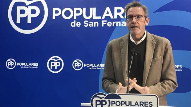 El concejal popular, Daniel Nieto.