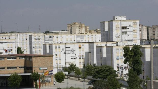 Vista de la barriada de San Telmo, en Jerez.