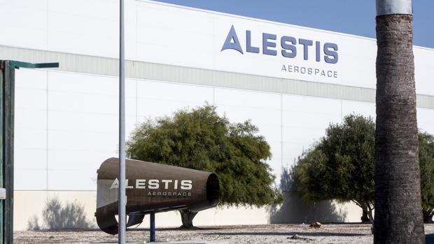 Vista parcial de la factoría de Alestis en el polígono del Trocadero de Puerto Real