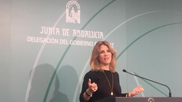 Ana Mestre durante la rueda de prensa en la que ha anunciado los galardones.