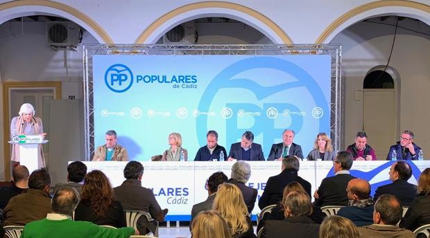 Reunión del comité ejecutivo del PP en Algeciras