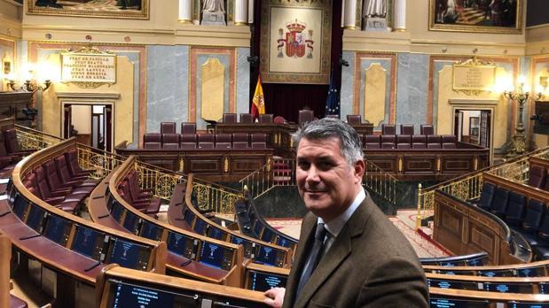 Ignacio Romaní, en el Congreso de los diputados.
