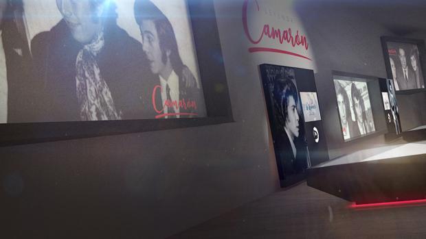 Imagen de una de las futuras salas del Museo Camarón.