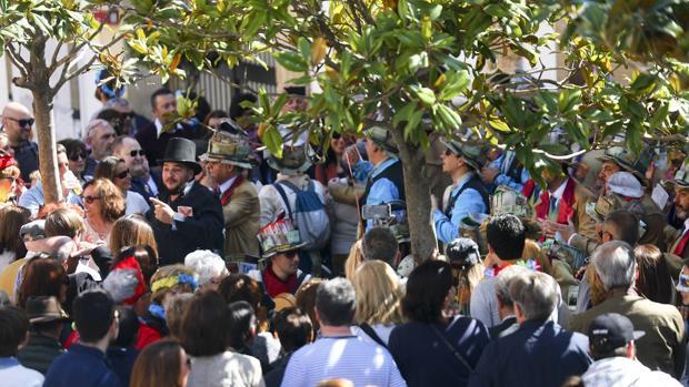 La Policía logró dar con el ladrón a pesar del gran número de personas que se congregaron el domingo para disfrutar del Carnaval.