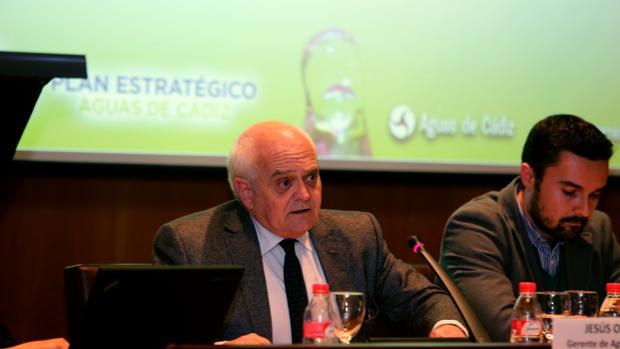 Jesús Oliden es el gerente de la empresa Aguas de Cádiz.