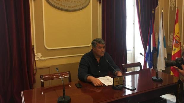 El portavoz del PP en el Ayuntamiento de Cádiz, Ignacio Romaní.