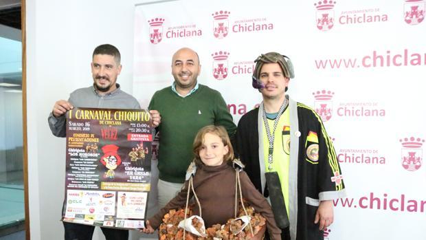 Cartel del Carnaval chiquito.