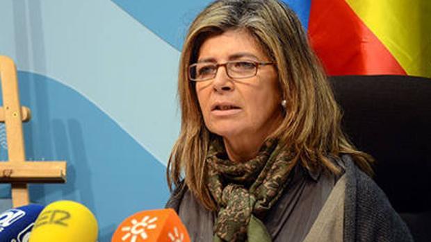 La delegada territorial de Salud y Familias, Isabel Paredes