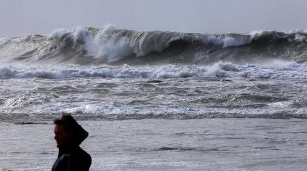 La AEMET activa la alerta por fenómenos costeros en Cádiz