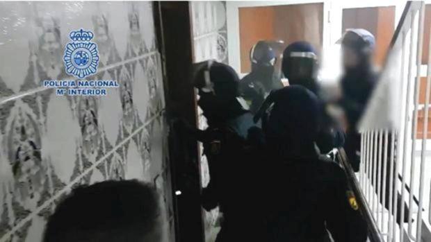 Imagen de un operativo antidroga anterior en el que fue arrestada 'La Pantoja'.
