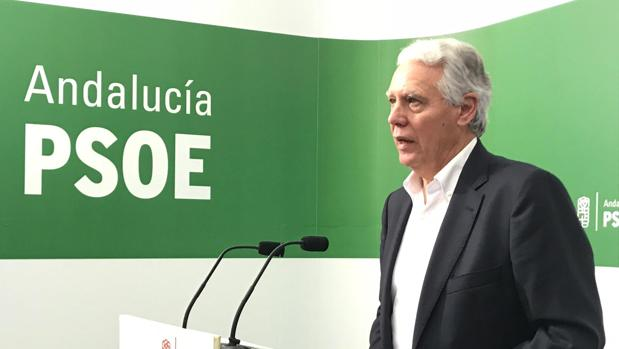 Francisco Menacho, secretario de Educación del PSOE en Andalucía.
