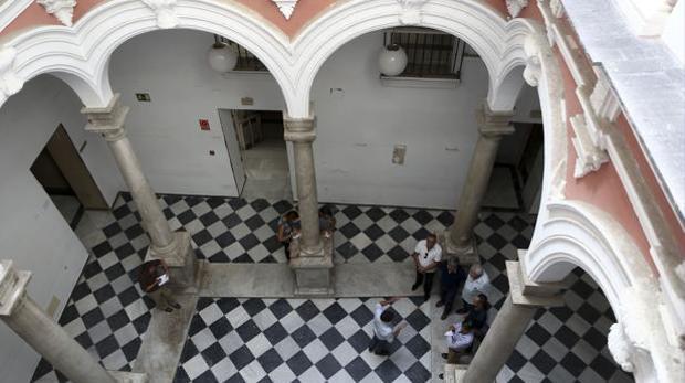 Patio del Palacio de los Marqueses de Recaño.