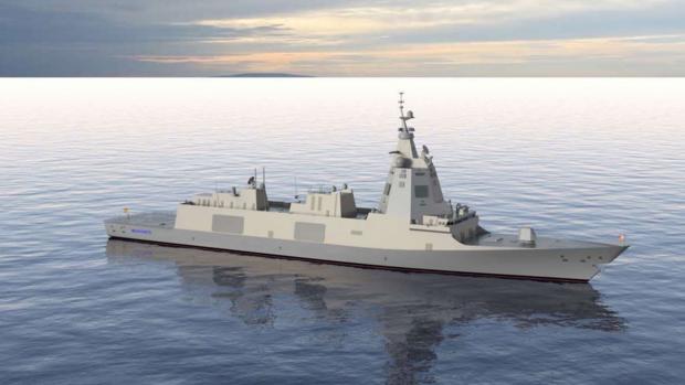 Imagen virtual de la nueva F-110