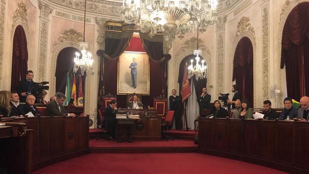 Imagen del Pleno de este viernes