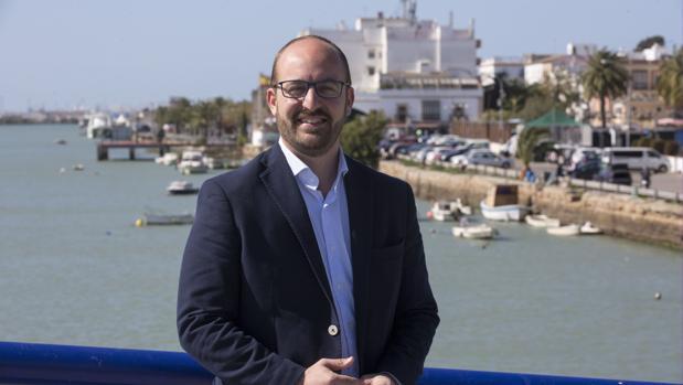 El candidato del PP en El Puerto, Germán Beardo.