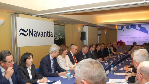 Reunión en la sede central para la aprobación definitiva del Plan Estratégico