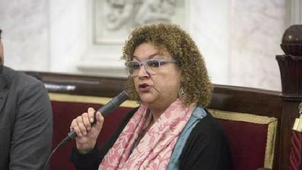 La concejal de Ganar Cádiz, Eva Tubío.