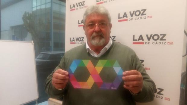 Pepe Sabido, presidente de Autismo Cádiz