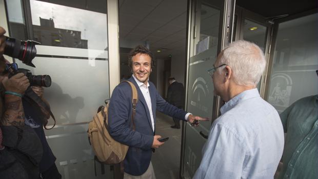 El alcalde, el día que se celebró el juicio sobre el 'caso Loreto'.