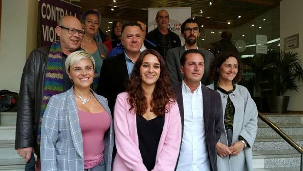 Candidatura al Congreso y Senado de Unidas Podemos por la provincia de Cádiz.