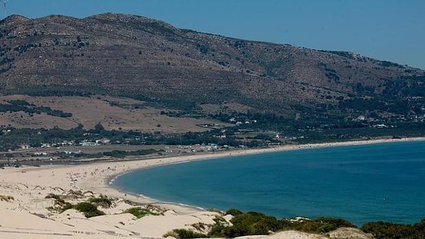 La playa de Valdevaqueros, de Tarifa.