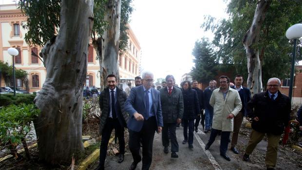 El Ayuntamiento y el anterior gobierno de la Junta ya acordaron un proyecto para la Ciudad de la Justicia.
