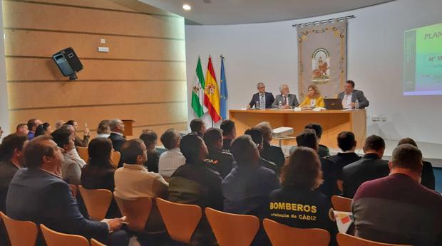 Un momento de la reunión del Plan Romero 2019.
