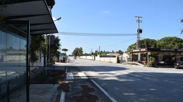 Elisa vivía en un chalet situado en las inmediaciones de la Venta López en Chiclana