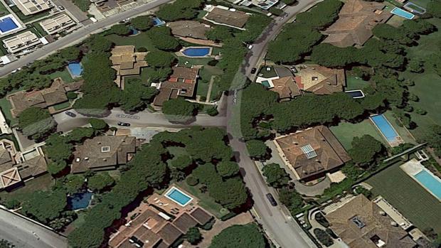Zona de Vistahermosa donde el catedrático levantó su chalet.