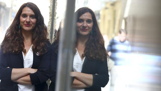 La candidata de Unidas Podemos al Congreso por la provincia de Cádiz.