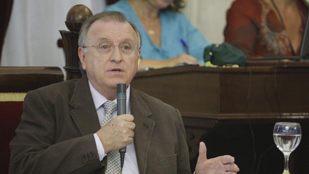 El concejal popular, José Blas Fernández.