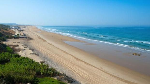 Imagen de una de las mejores playas de Cádiz.