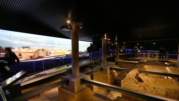 El Yacimiento Gadir, de los más visitados en Cádiz capital.