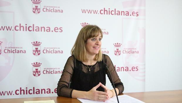La responsable de Vivienda, Carmen Jiménez.