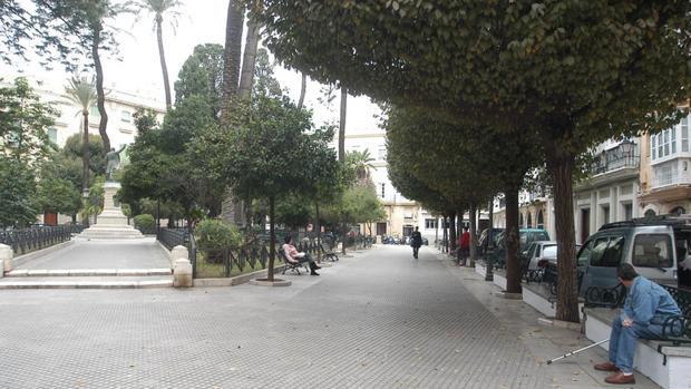 Imagen de la Plaza de Candelaria