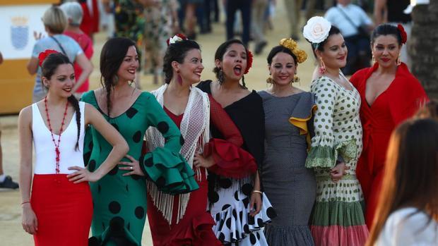 Las mujeres serán las protagonistas este miércoles en la Feria del Caballo de Jerez.