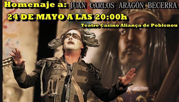 Homenaje a Juan Carlos Aragón