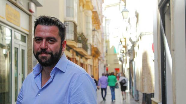 El candidato del PSOE a la Alcaldía de Cádiz, Fran González.