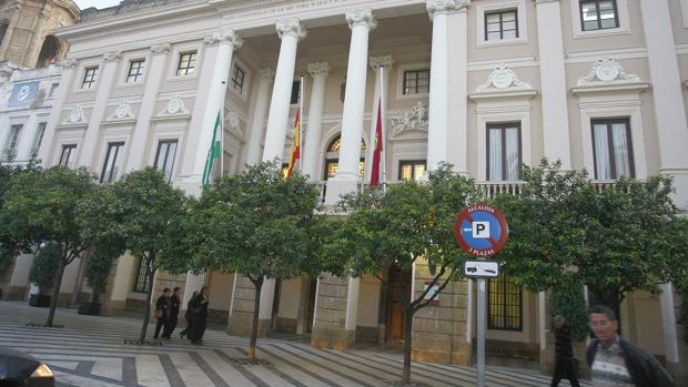 Ayuntamiento de Cádiz.