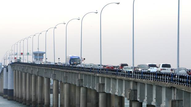 Vista parcial del puente de Carranza