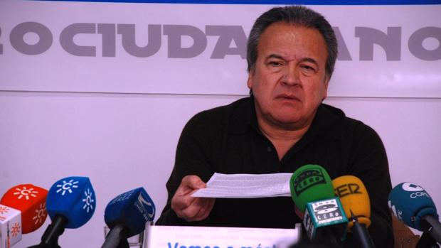 Pedro Pacheco, exalcalde de Jerez