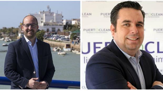 Germán Beardo (PP) y Curro Martínez (Ciudadanos).