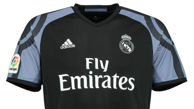 Así es la peculiar tercera camiseta del Real Madrid
