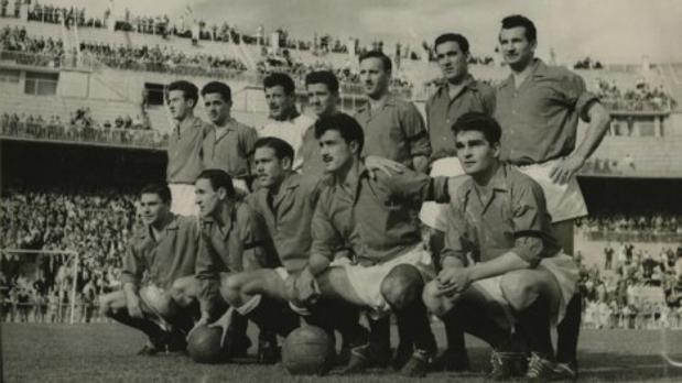 Osasuna, el equipo que vio debutar a Gento