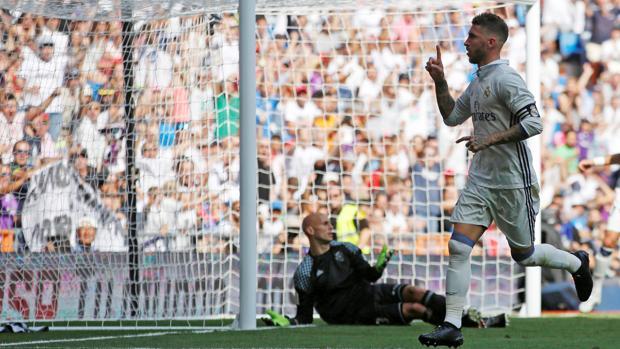 Ramos, en un encuentro liguero ante el Osasuna