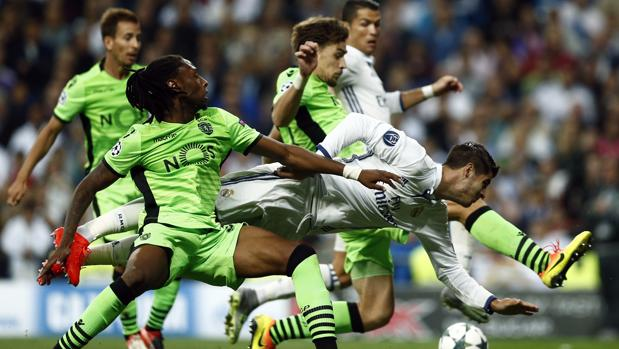 Real Madrid-Sporting Portugal:  El Madrid estira su épica ante el Sporting