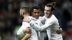 El Madrid estira su épica ante el Sporting