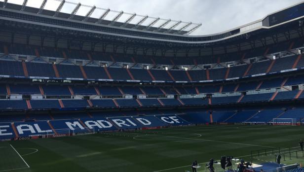 Real Madrid-Sporting de Portugal:  El banderín de córner que emocionará al Santiago Bernabéu